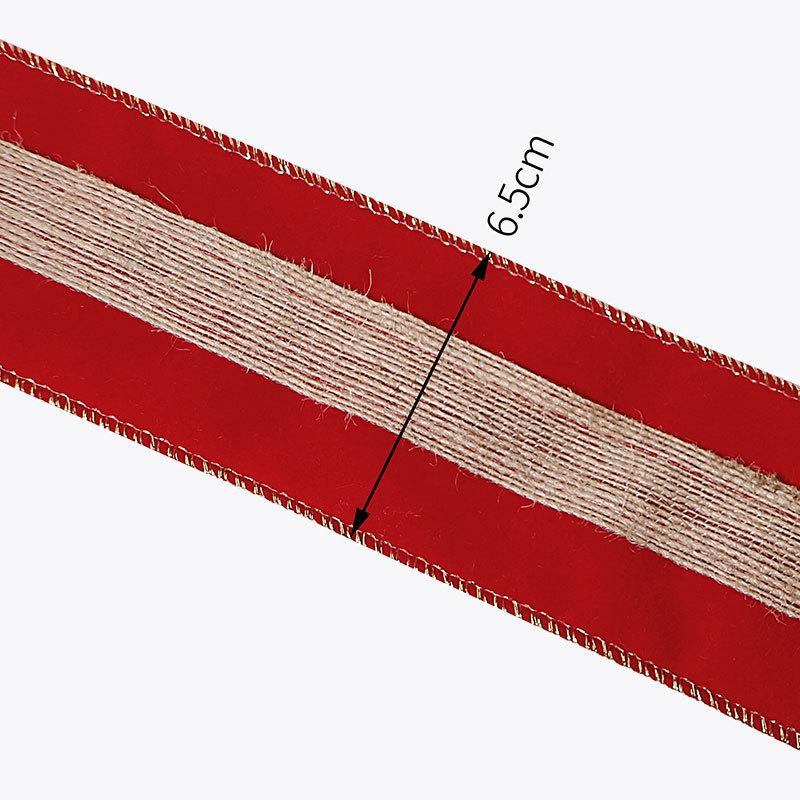 wire edge velvet ribbon